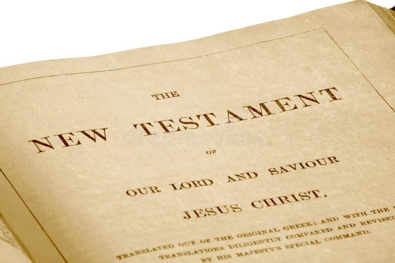 Le testament neuf photo libre de droits