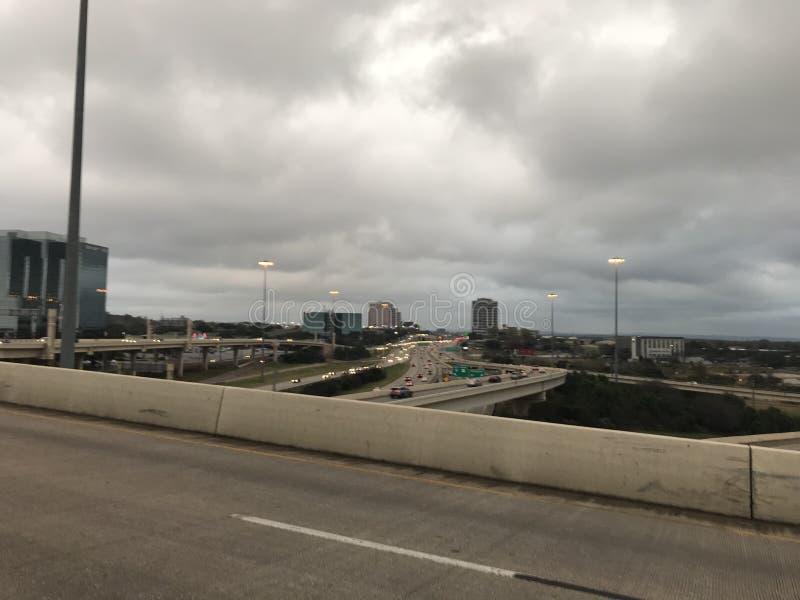 Le Texas, état de l'étoile et de la ville isolées des cowboys photos libres de droits