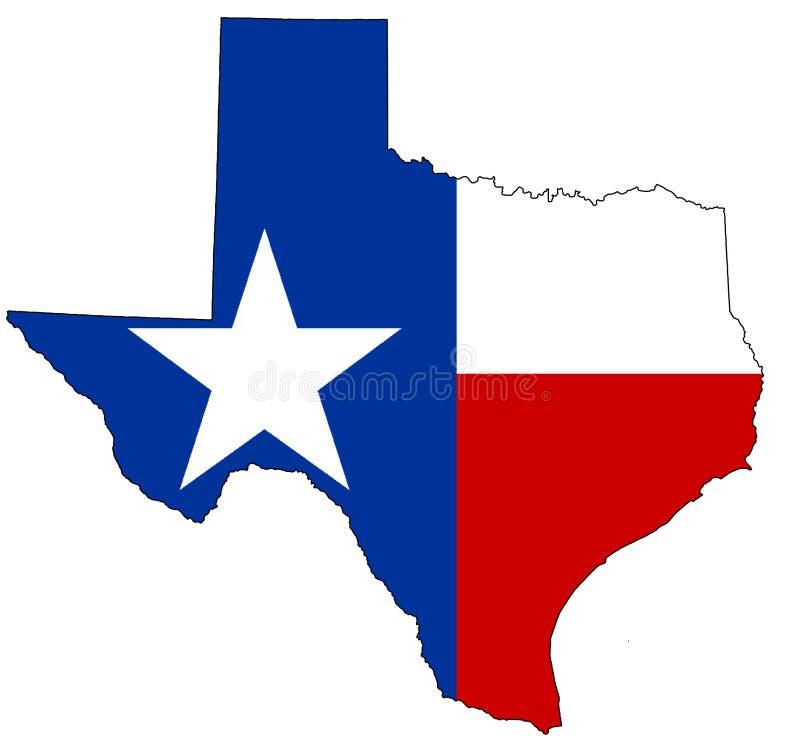 Le Texas illustration libre de droits