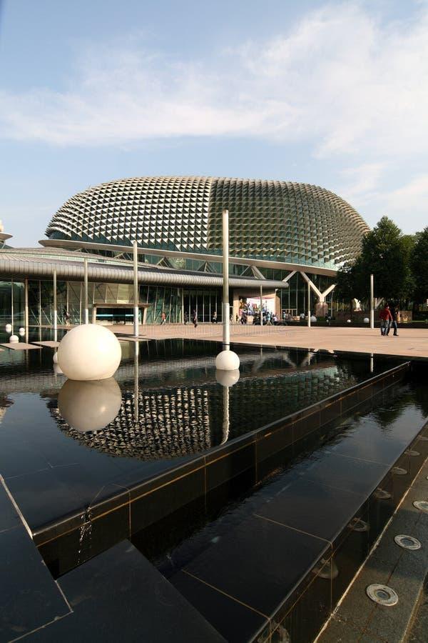 Le théâtre d'esplanade, Singapour photographie stock libre de droits