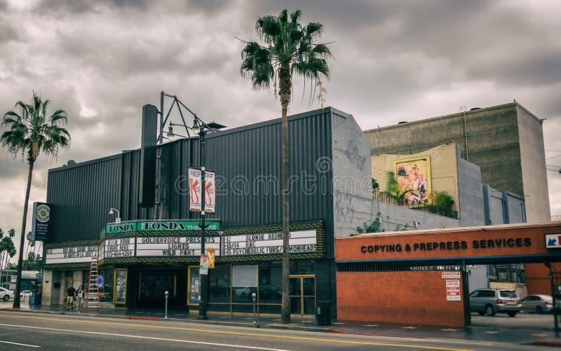Le théâtre de Fonda photo libre de droits