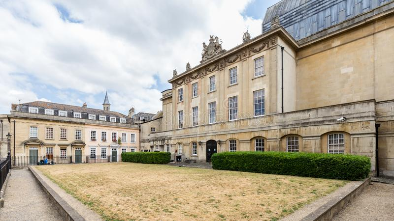 Le théâtre royal à Bath Somerset, R-U images libres de droits