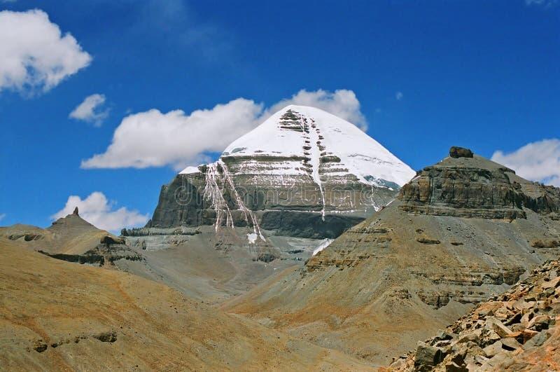 Le Thibet, Mt. Kailash. image libre de droits