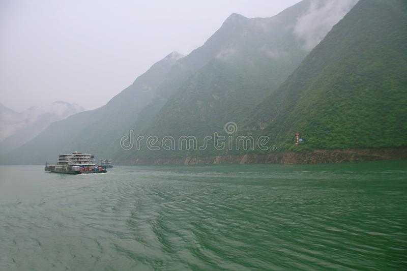 Le Three Gorges du fleuve Yangtze photographie stock libre de droits