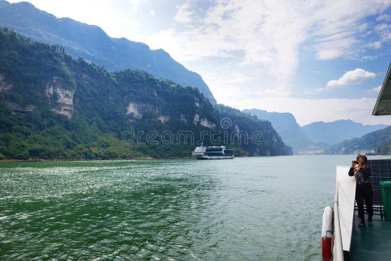 Le Three Gorges du fleuve Yangtze photos stock