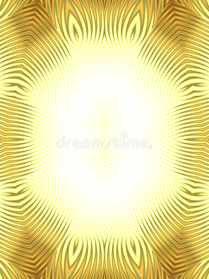 Le tigre d'or barre la trame de photo illustration stock