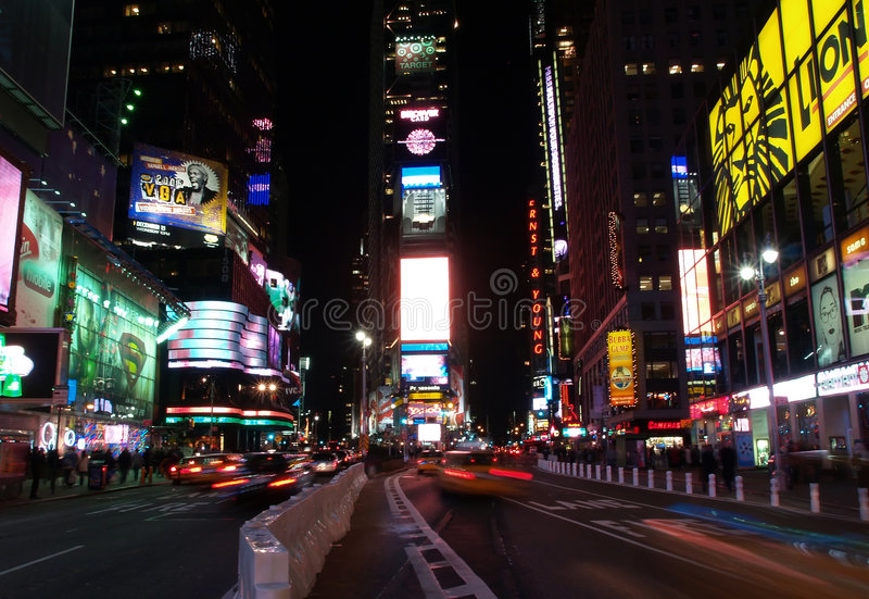 Le Times Square dans NYC photo stock