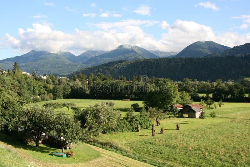 Le Tirol photo libre de droits