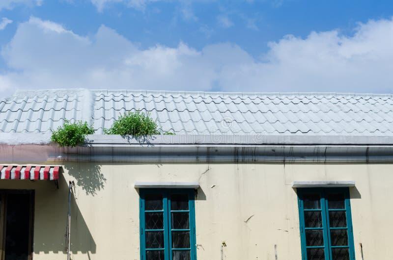 Le toit image stock