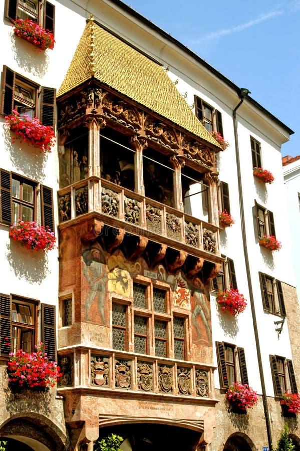 Le toit d'or - Innsbruck - Autriche photographie stock