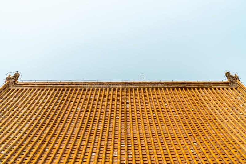 Le toit de palais photo libre de droits