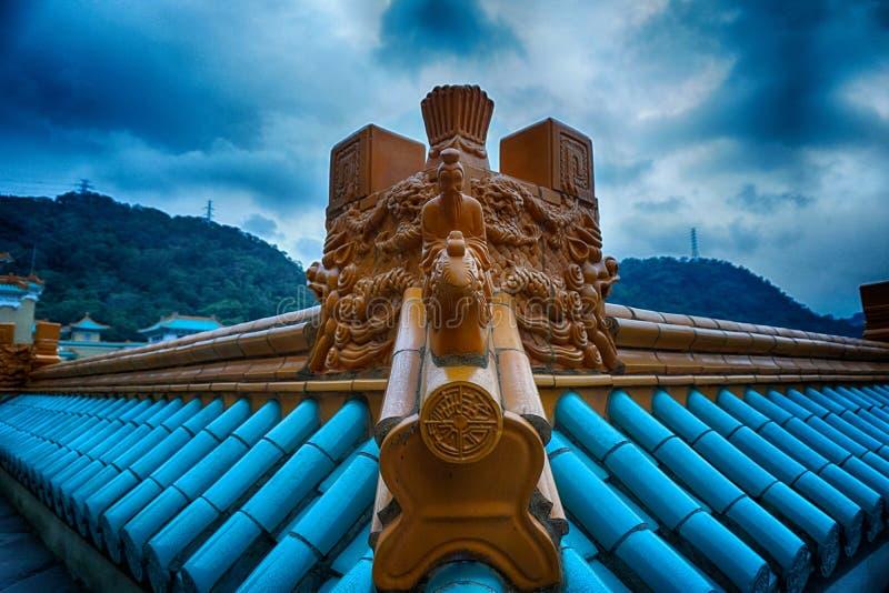 Le toit de Taïwan le palais impérial photo stock
