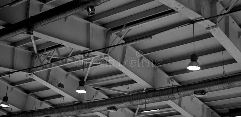 Le toit du complexe de glace images stock