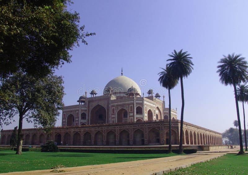 Le tombeau de Humayun, Delhi, Inde image stock