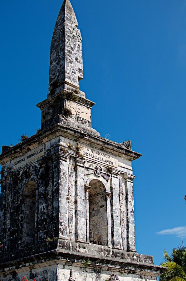 Le tombeau de Magellan image libre de droits