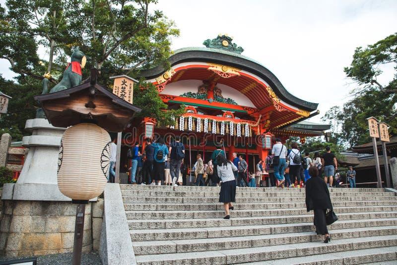 Le tombeau de Yasaka est un endroit c?l?bre ? Kyoto Japon, beaucoup de peuples viennent ici quotidien photos libres de droits