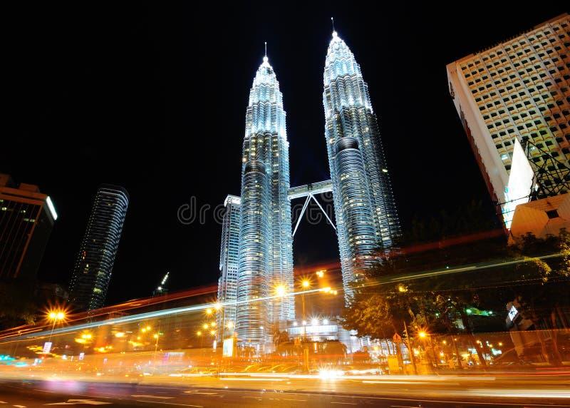 Le torri gemelle di Petronas immagine stock libera da diritti
