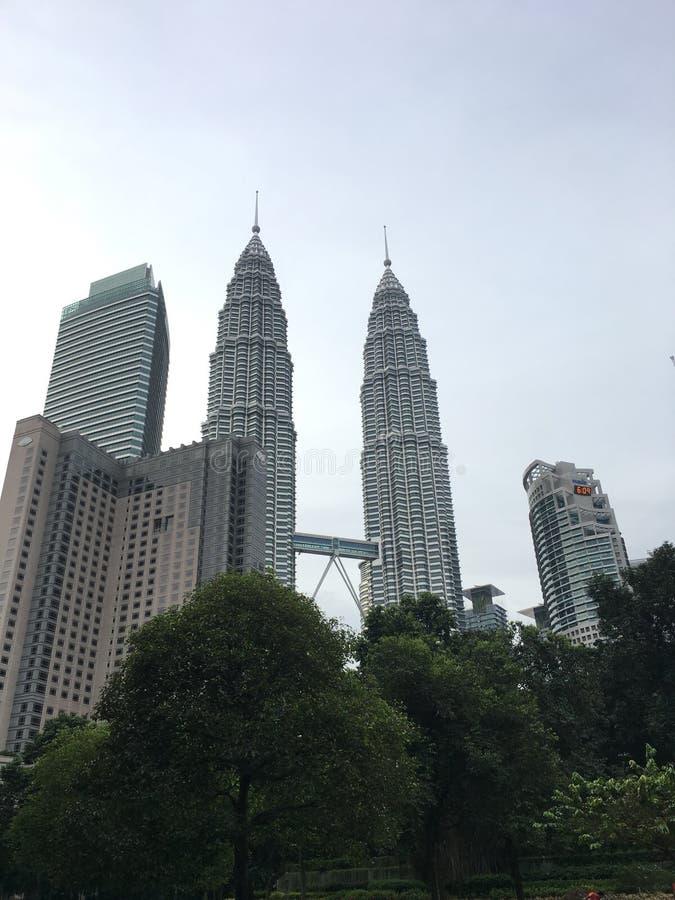 Le torri maestose di Petronas immagini stock libere da diritti