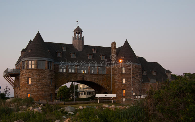 Le torri in Narragansett, RI fotografia stock libera da diritti