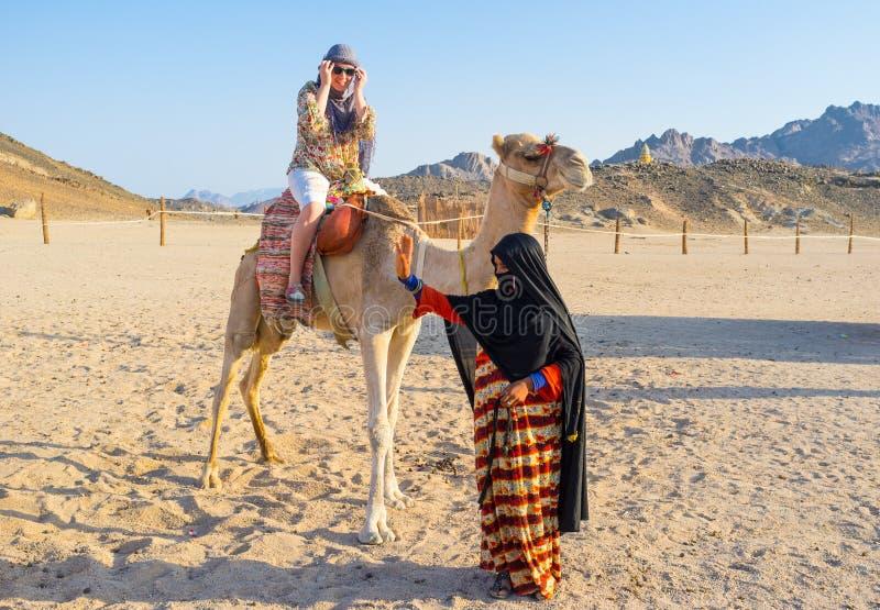 Le tour de chameau photographie stock libre de droits