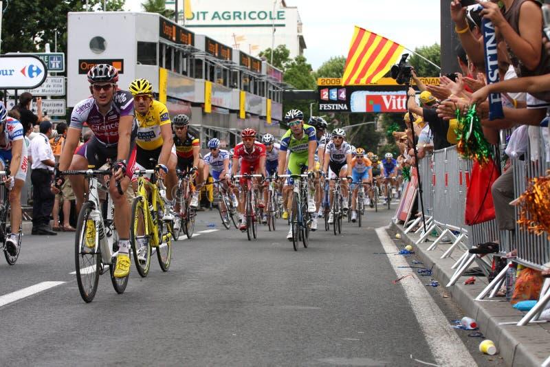 Download Le Tour De France 2009 - Round 4 Editorial Photography - Image of languedoc, tour: 10074947