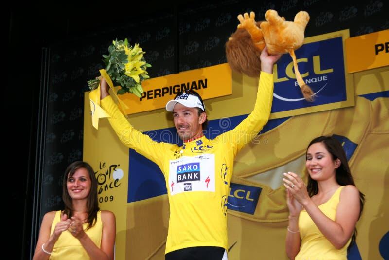 Download Le Tour De France 2009 - Round 4 Editorial Stock Image - Image of geste, illustration: 10075314