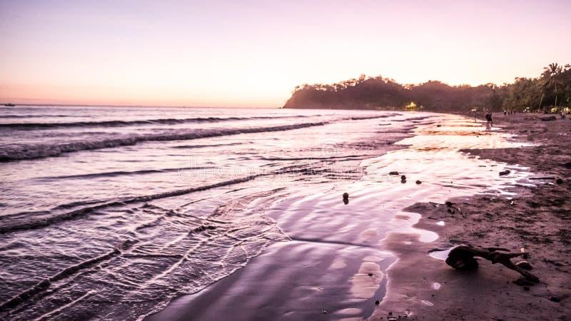Le tourisme de Costa Rica Beach Travel Vacation Tourist explorent beau images libres de droits