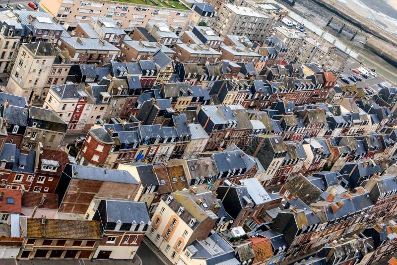 Le Tréport, França fotografia de stock royalty free