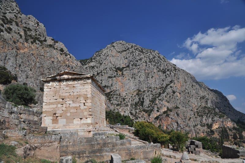 Le trésor reconstruit d'Athènes photo libre de droits