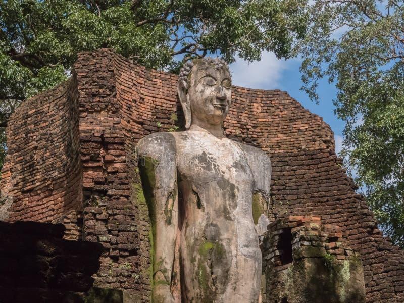 Le tracce di storia delle nazioni Tailandia, rovine, credono di buddismo fotografia stock libera da diritti