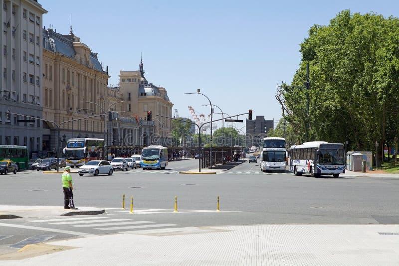 Le trafic à Buenos Aires, Argentine images stock