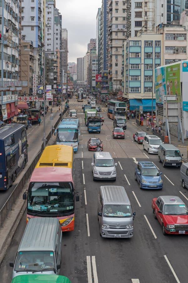 Le trafic Argyle Street photo libre de droits