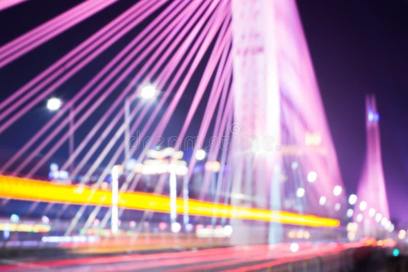 Le trafic brouillé de pont images libres de droits