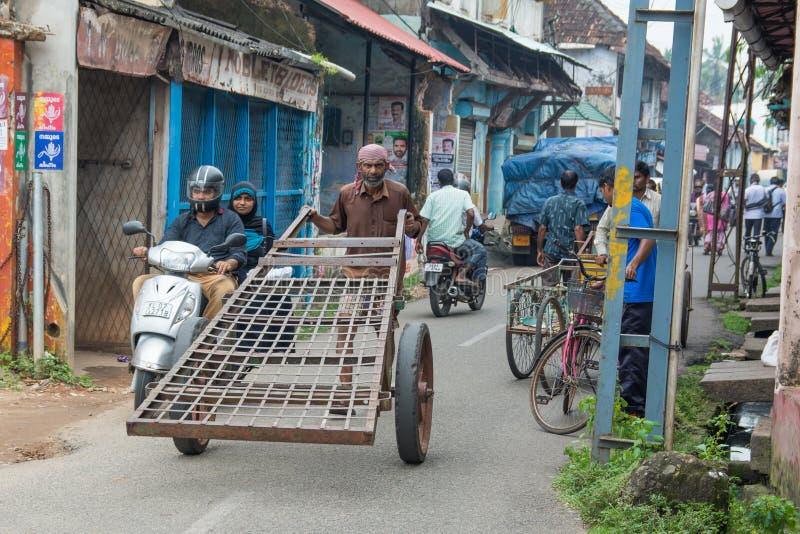 Le trafic de Mumbai images stock