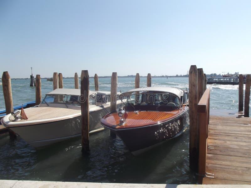 Le trafic de Venezia images libres de droits