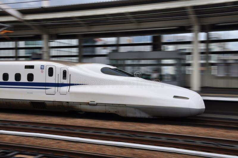 Le train de balle volant au Japon photos libres de droits