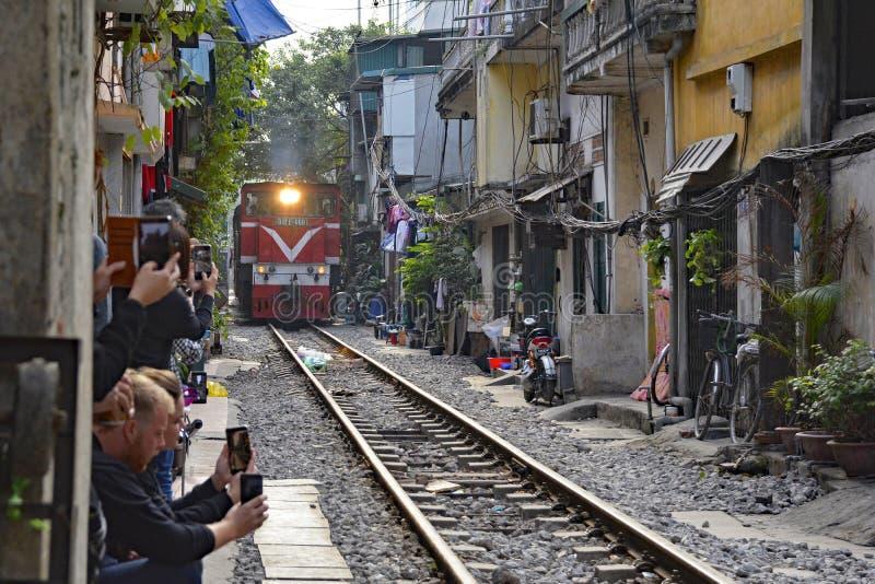 Le train de Sapa photo stock