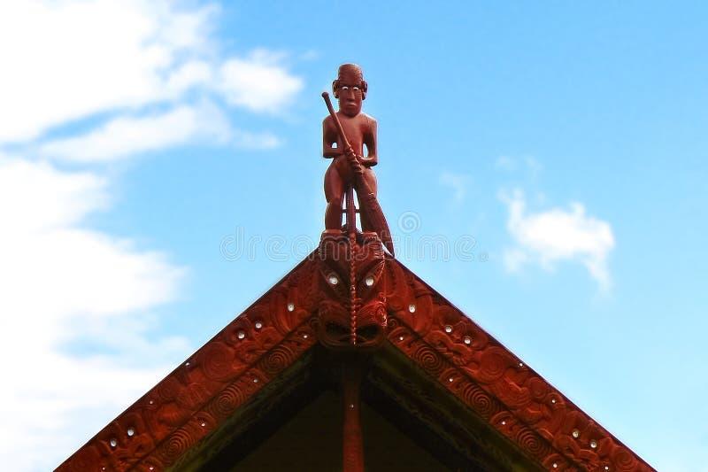 Le Traité de Waitangi fond le site historique et culturel important pour les personnes maories, Nouvelle-Zélande photos libres de droits