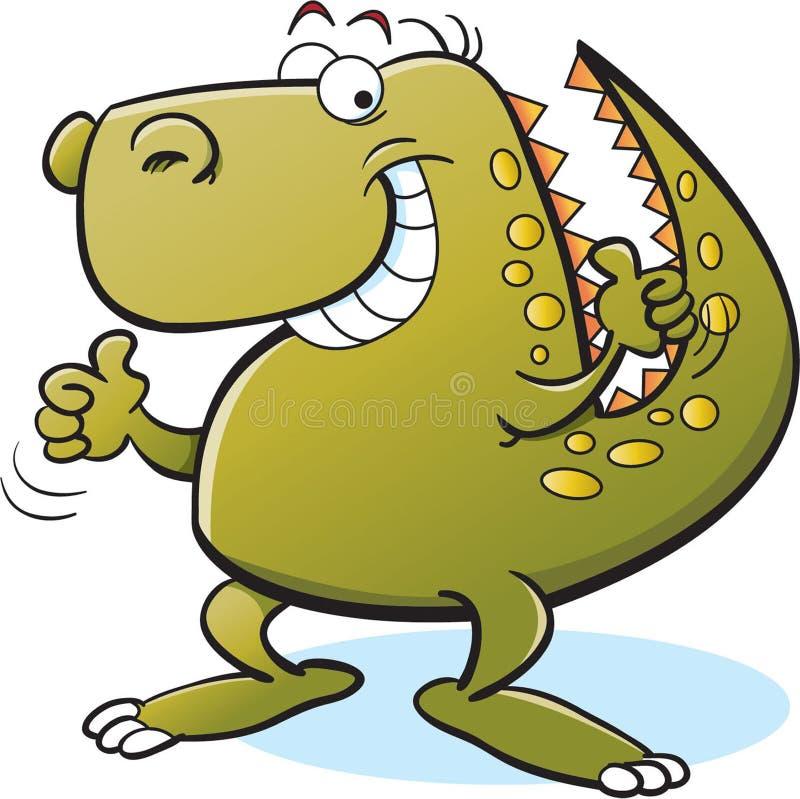 Le Trannosaurus Rex stock illustrationer