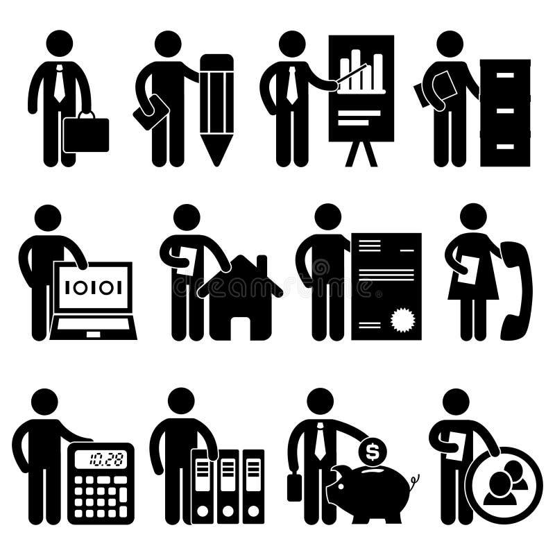 Le Travail D Avocat De Programmeur D Homme D Affaires Photos libres de droits