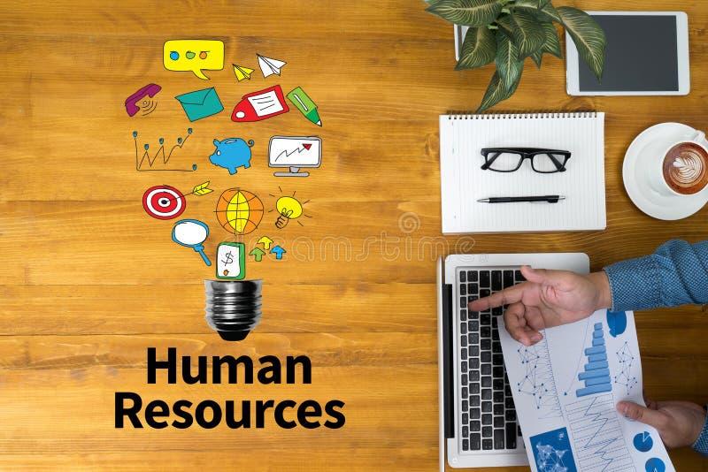 Le travail d'emploi de ressources humaines d'heure photographie stock libre de droits