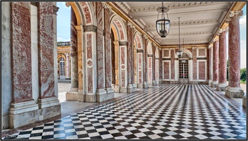 Le Trianon grand, Versailles images libres de droits