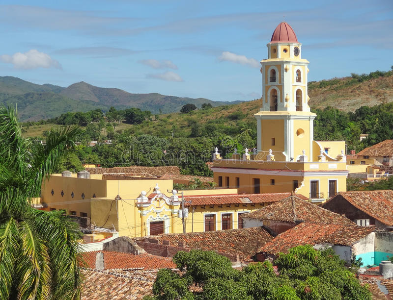 Le Trinidad au Cuba photos stock