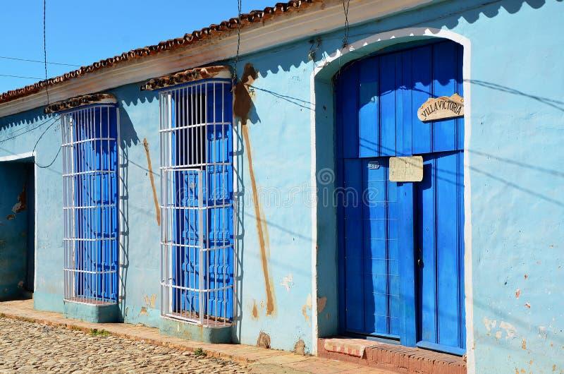 Le Trinidad colonial, au beau Cuba photographie stock libre de droits