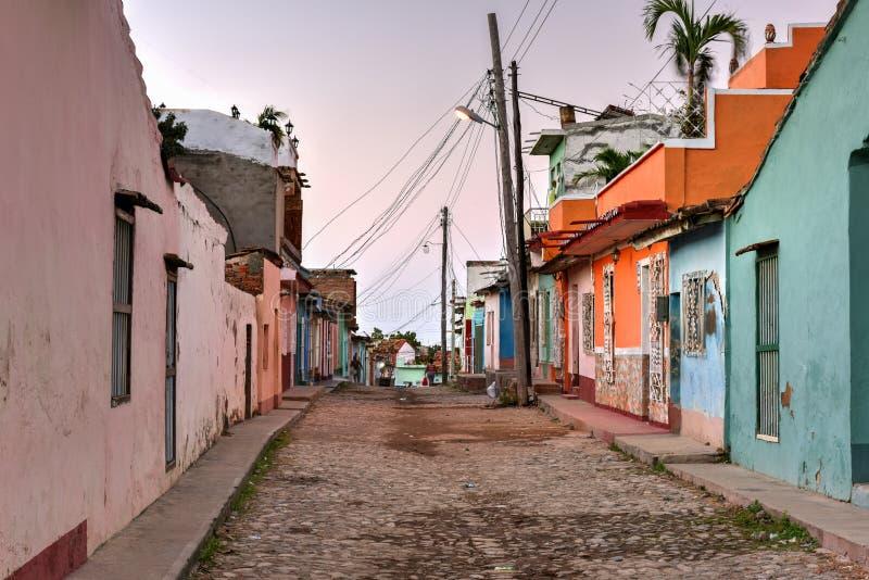 Le Trinidad colonial, Cuba photos libres de droits