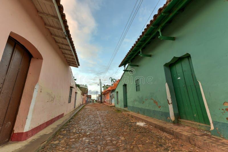 Le Trinidad colonial, Cuba images stock