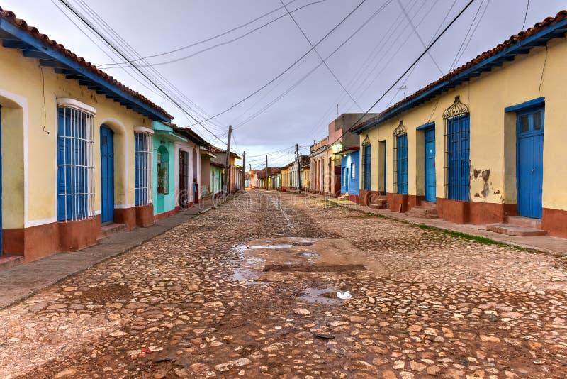 Le Trinidad colonial, Cuba photo libre de droits