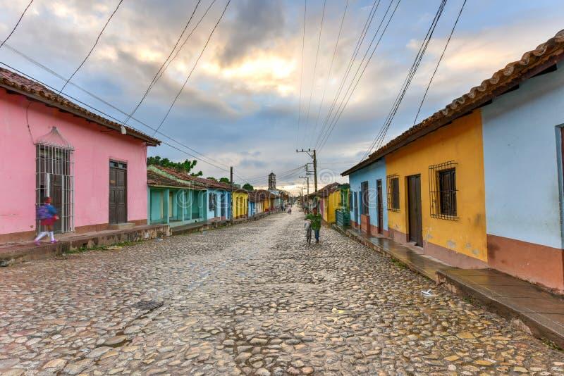 Le Trinidad colonial, Cuba photo stock