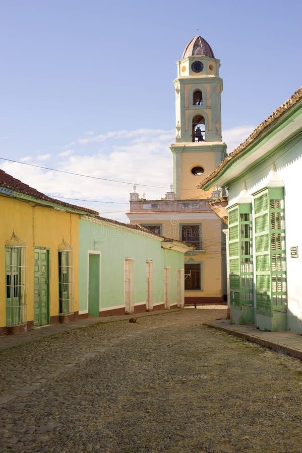 Le Trinidad coloré, Cuba photos stock