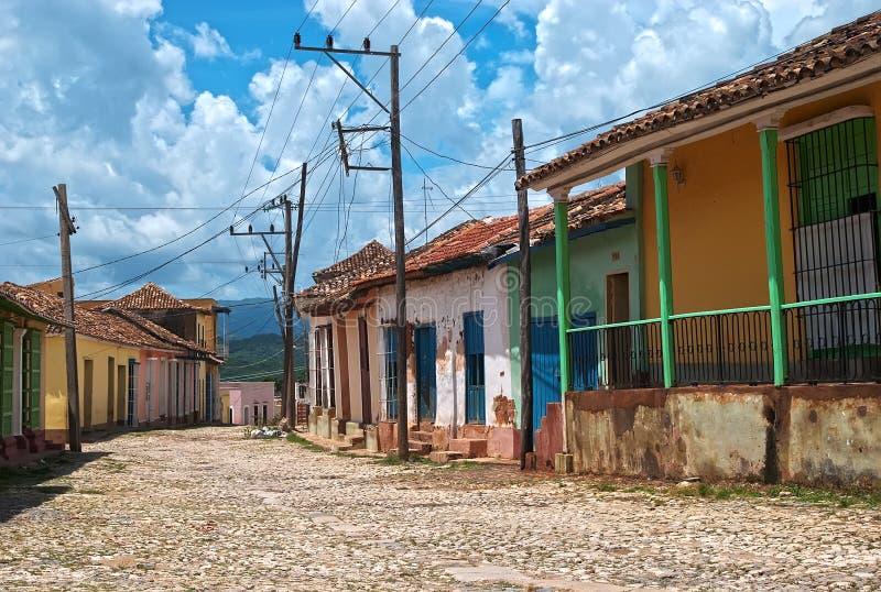 Le Trinidad, Cuba images libres de droits
